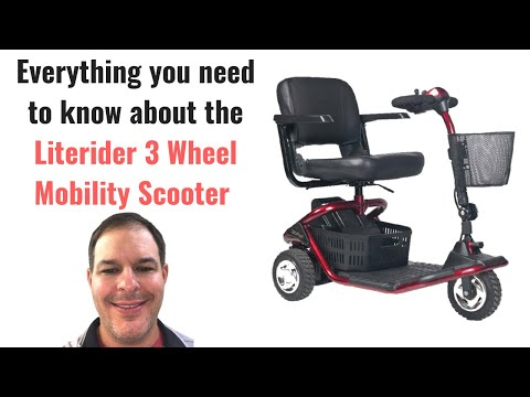 Literider 3 wheel mobility scooter by Golden Technologies