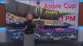 How to navigate Apple Cup traffic