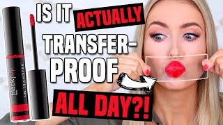 NEW TRANSFER-PROOF GLOSS FROM SEPHORA?! All Day Wear Test! || Buy or Bye