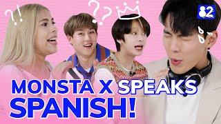 MONSTA X, the legendary latino K-pop group I Telephone Game