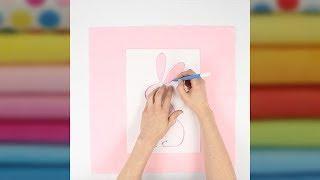 Quick Tut – Kissenhülle mit Lineart Technik verzieren
