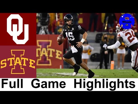 #18 Oklahoma vs Iowa State Highlights | Week 5 College Football | 2020 College Football Highlights