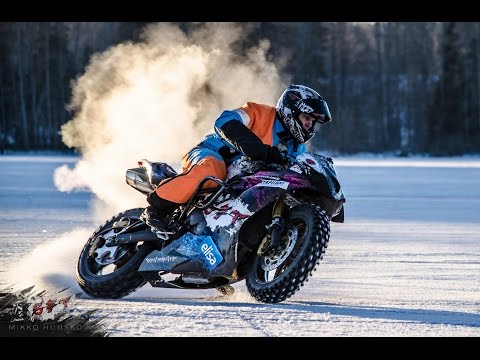 Streetbike, Rallycar and Snowmobile ON ICE