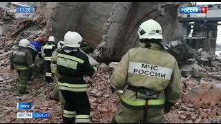 Следственный комитет и прокуратура области начали доследственные проверки по факту обрушения неэксплуатируемого здания