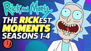 RICK AND MORTY: The Rickest Moments EVER! (Seasons 1-4)