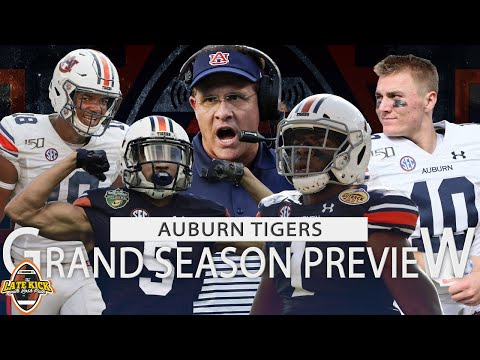 Auburn Football Grand Season Preview + Predictions (Late Kick Cut)
