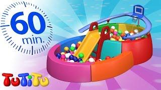 TuTiTu En Francais   Piscine à balles   Et autres jouets populaires   1 heure spécial