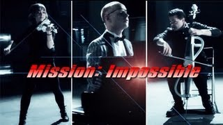 Mission Impossible (Piano/Cello/Violin) ft. Lindsey Stirling - The Piano Guys