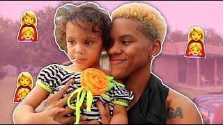 COURTNEYS DAUGHTER  , NAY and MEECH DRAMA , GOING TO THE FAIR | VLOG