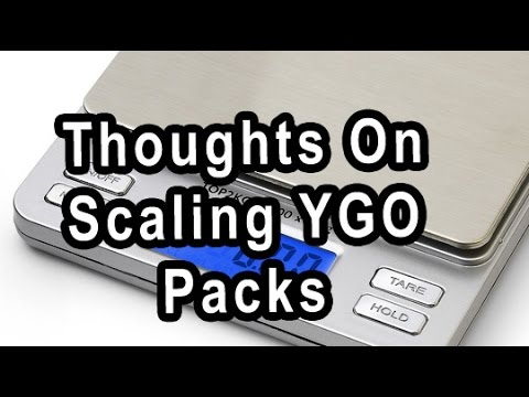 Thoughts On Scaling YGO Packs