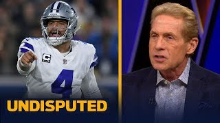 Skip Bayless breaks down why Dak Prescott is a better leader than Aaron Rodgers | NFL | UNDISPUTED