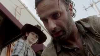The Walking Dead - Rick and Morgan