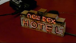 Modeling Neon Signs and the Las Vegas Sign Museum