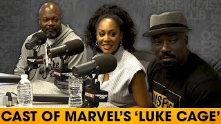 Cast of 'Luke Cage' On The Rise Of Black Superheroes, Hip-Hop's Role & Character Developments