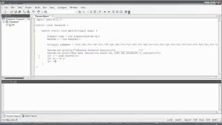 Java Tutorial #11 *PROGRAM* Random Password Generator