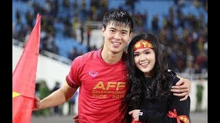 Đỗ Duy Mạnh lần đầu bật mí về bạn gái hot girl Quỳnh Anh