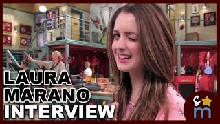 "Laura Marano Sings Fan Message, ""Twerk"" Fail And Talks AUSTIN & ALLY Season 3"