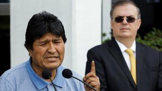 Ex-Bolivian President Evo Morales accepts political asylum in Mexico
