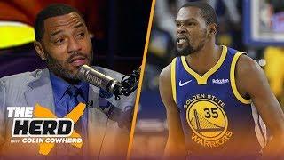 Kenyon Martin says KD should've addressed Draymond's 'very disrespectful' behavior | NBA | THE HERD