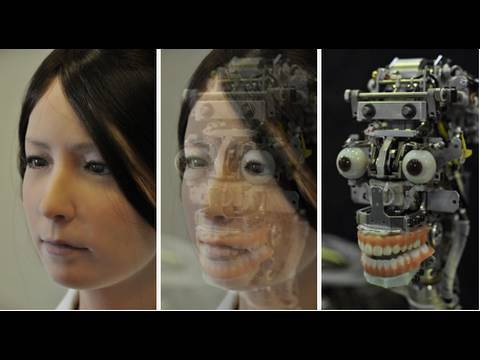 A.I. Female Android Geminoid F