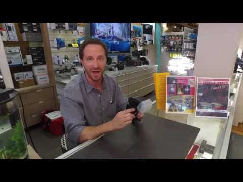 David Keller with the Nikon SB 5000 Speedlight