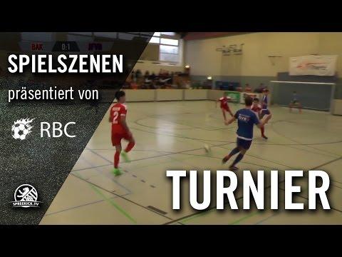 Berliner AK 07 - JFV Bremerhaven (13. Range Bau Cup, U17 B-Junioren, Gruppenphase) - Spielszenen | SPREEKICK.TV