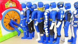 Power Rangers Blue Brothers Go Through The House Legendary Super Sentai Heroes