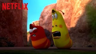 The Obstacle Course | Larva Island | Netflix