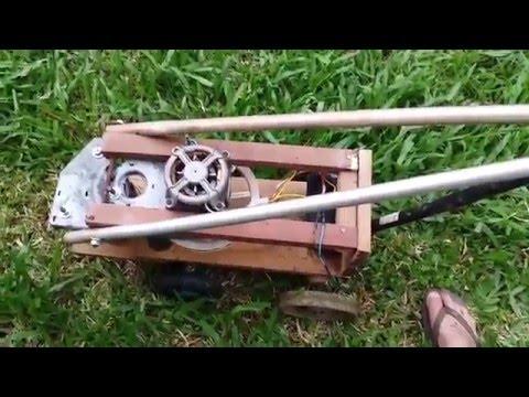 Cortador De Grama Caseiro Videomoviles Com