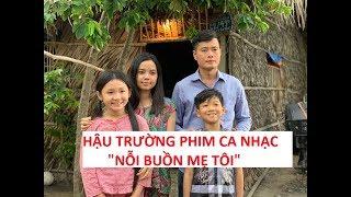 Khương Dừa hớn hở lần đầu đóng phim ca nhạc cùng bé Nghi Đình, bé Minh Chiến!!!!
