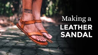 Making Leather Sandals / Teva Original Sandals inspired ⧼Week 36/52⧽