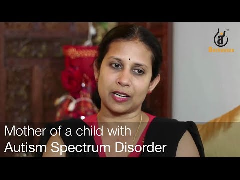 Vidya venkatesh, Mother of a child with Autism spectrum disorders