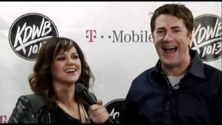 Kelly Clarkson - Interview - 101.3 KDWB's Jingle Ball (Minneapolis, Dec 2011)