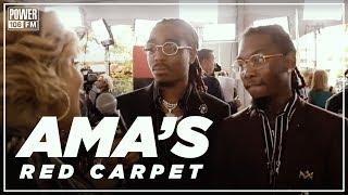2018 AMA's Red Carpet
