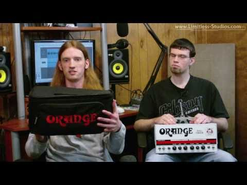 Orange Dual Terror 30W All-Valve Twin Channel Head