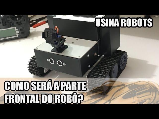 COMO FICARÁ A PARTE FRONTAL DO ROBÔ? | Usina Robots US-2 #141