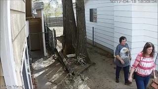 My Gun Toten Neighbor, Tresspassing on my Property