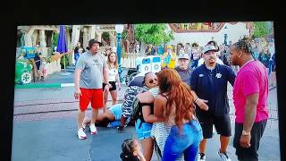 *COMMENTARY REACTION* DISNEYLAND FIGHT 👊🏿 JULY 2019