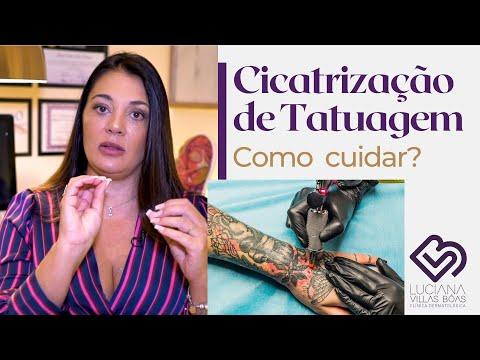 Dermatologista explica como cuidar da sua TATUAGEM
