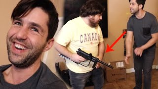 PAINTBALL VS AIRSOFT - Which hurts more?!