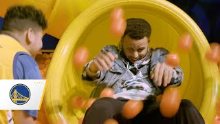 For The Bay: Stephen Curry Hosts Make-A-Wish Kids