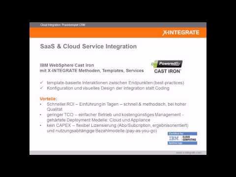 Cloud Integration: Praxisbeispiel CRM