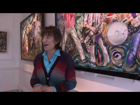 Ronnie Wood - RAW INSTINCT - Castle Fine Art Gallery