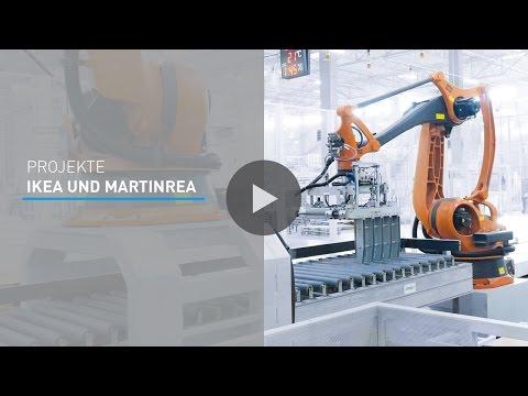 Projektvideo Engineering - Industrierobotik Lösungen für IKEA und Martinrea