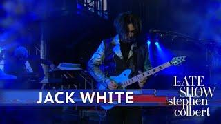 Jack White Performs 'Ice Station Zebra'