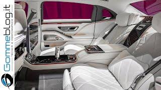 2022 Mercedes Maybach S-Class - INTERIOR - Excellent Luxury Sedan !
