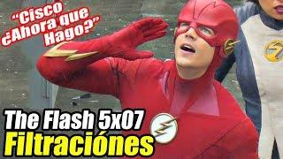¡VAYA TRAJE! - The Flash 5x07 Imagenes Filtradas | 7.8/10 Too Much Head