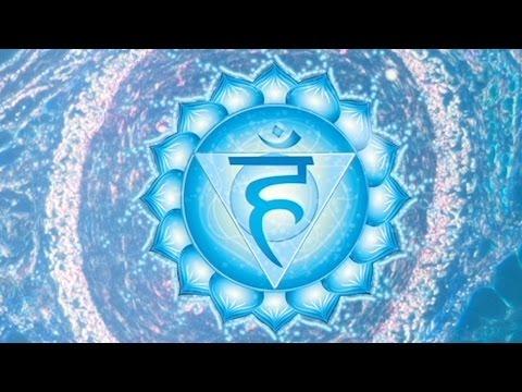 HEAL THROAT CHAKRA   Healing Tibetan Singing Bowls Sounds   Chakra Meditation Music