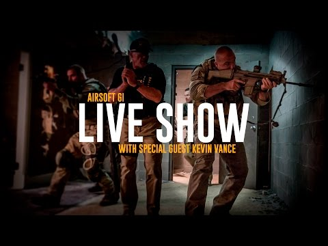 Airsoft LIVESHOW w/ Navy SEAL Kevin Vance from Suicide Squad!  | AirsoftGI.com