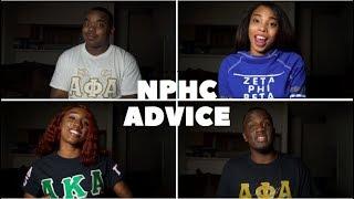 NPHC FRATERNITY AND SORORITY ADVICE   BLACKKOUTTV
